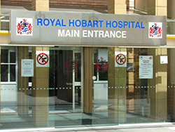RHH main entrance