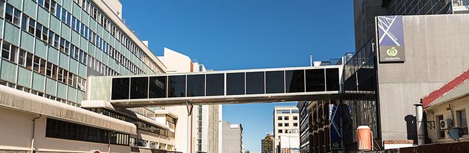 Wellington Centre airbridge
